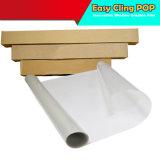 Superposición de recubiertos con película Blanco/Plata/Golden de inyección de tinta de impresión digital Hoja PVC película extraíble