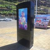 IP65 옥외 주문을 받아서 만들어진 광고 LCD 디지털 스크린 간이 건축물