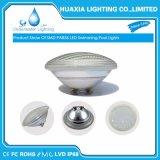 Il Ce RoHS IP68 scalda l'indicatore luminoso subacqueo bianco della piscina della lampada del raggruppamento di 12V PAR56 LED