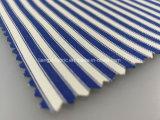 Listo - Tejido de nylon de hilados de algodón con Spandex teñido de sarga Fabric-Lz5324