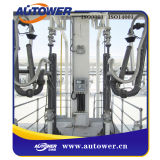 Projetar o braço de carregamento da injeção para o armazenamento químico
