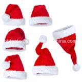 산타클로스 크리스마스 모자 Red&White 모자 휴일 복장 모자
