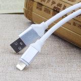 La cabeza de metal redondo TPE Cable de carga USB de Huawei iPhone