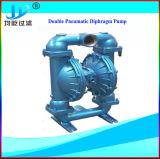 Pressluftbetätigte pneumatische Dn50 Dn80 doppelte Membranpumpe der gesundheitlichen Milch-