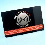 Scheckkarte und sicherer RFID Blocker des Passes