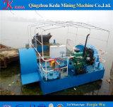 Barca dell'accumulazione di immondizia della macchina di pulizia del lago e del fiume