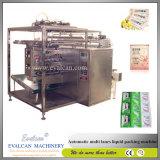 De automatische het Vullen van de Zak van de Lotion van het Lichaam van de Pindakaas van de Honing van de Ketchup van de Room van de Vochtigheid van het Sachet Vloeibare Machine van de Verpakking