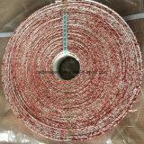 Hochtemperaturschutz-silikonumhüllte Fiberglas-Schlauch-Verpackung