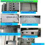El panel de emparedado reciclable/verde del EPS para la pared exterior/la pared interior