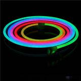 옥외 SMD 2835/SMD 5050 RGB 크리스마스 훈장 LED 네온 코드 빛