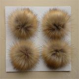La Chine fournisseur Imitation Fourrure amovible Racoon POM POM