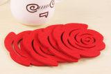 Novas idéias de produtos 2018 Lã Placemat de feltro Coaster com alta qualidade