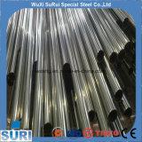 Spiraalvormige Buizen//de Spiraalvormige Gelaste Pijp die van het Roestvrij staal van 4 Duim in Wuxi leiden