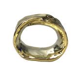 Керамические фарфора Gold Napkin кольцо