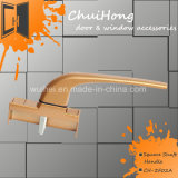 중국 기계설비는 던지기 아연 문과 Windows 정연한 샤프트 손잡이를 정지한다