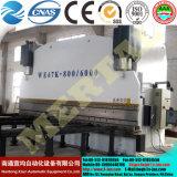 CNCは曲がる機械鋼板Wc67y版の曲げを制御する