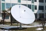 C/Ku Band 1.8 2.4 3 3.7m 12 10 8 6 4feet 300 400 180 240cm SatellitenWiFi/des Auto-TV/3G/HD Teller-Antennen-Empfänger Faser-Eisen-Stahlplatten-Satellitendigital-GPS G/M