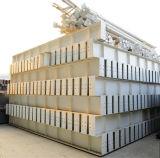 Structure de la lumière de l'acier peint bâtiment préfabriqué
