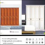 Wardrobe moderno do quarto da porta deslizante do PVC