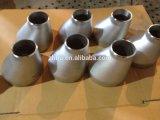 Encaixe de tubulação excêntrico inoxidável do aço inoxidável do redutor do aço ASME B16.9 de Zhiju