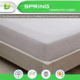 Los ácaros del anti-polvo de poliéster y algodón 100% impermeable Cubierta de protector de colchón