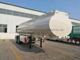 El depósito de combustible/camión cisterna semi remolque con Muti Warhouse/habitación/compartimento