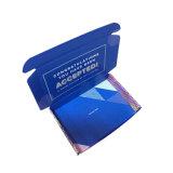 Cortar a caixa de empacotamento do papel de embalagem de cartão ondulado