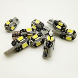 Nonpolarity LED 전구 T10 8 SMD 5630 5730대의 차 LED 빛
