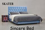 Sk01 미국식 침실 직물 침대