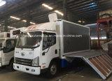 FAW 4X2 de 6 toneladas de publicidad exterior móvil etapa vehículo camión LED