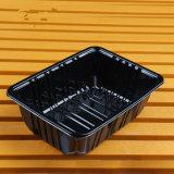 Bandeja de alimentos congelados descartáveis de plástico