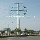 Acero de arriba poste de la transmisión de la corriente eléctrica de la alta calidad