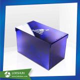 새로운 디자인 호텔에서 사용되는 아크릴 냅킨 조직 상자 콘테이너
