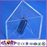 Indicador transparente plástico do plexiglás da venda quente para anunciar o indicador