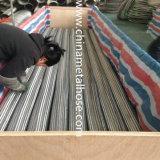 Manguito/tubo flexibles acanalados de Mtal de la alta calidad con el borde