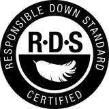 El RDS, el más barato y más limpias Lavado de alta calidad de un 80% de Plumas y plumón de pato blanco
