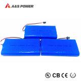 Nachladbare 18650 2s4p 7.4V 10.4ah Li-Ionbatterie für LED-helle backupbatterie