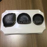 La vente de la durabilité de la vaisselle en plastique à chaud de la plaque de mélamine