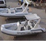 Liya 17pés barco de pesca fora da China Costela Iate Lancha