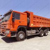 Sinotruk HOWO 6X4 LHD 팁 주는 사람 트럭 저가를 가진 사용된 초침 트럭