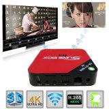 Самая горячая коробка 4K IPTV 2.4G WiFi франтовская TV