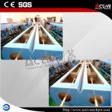O PLC controlo táctil do Parafuso de máquina de extrusão de tubo de PVC Twin