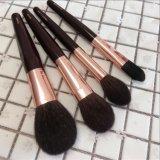 Nouvelle Mode 8PCS manche en bois de poils de chèvre brosses cosmétique