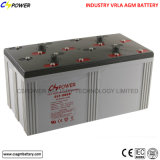 Lange Lebensdauer wartungsfrei/VRLA /AGM Batterie 2V3000ah