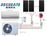 Acdc com baixo consumo de energia solar híbrido com alta qualidade do ar condicionado