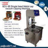 Única cabeza tapa de metal Máquina Tapadora de vacío (BZX-65)