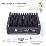Fräser 6 Computer-Brandmauer LAN-I3 mit Intel-Gigabit-Netz USB3.0 Speicher Psfense (I3 7100u Prozessor) COM-32g DDR4