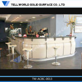 Round Top qualité comptoir bar restaurant-bar en marbre