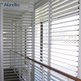 Blinden van het Aluminium van het Blind van het Blind van het venster de Glijdende Regelbare Buiten