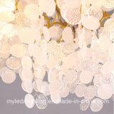 Amerikanischer Hotel-Baum-Zweig-Kupfer-Kristall-Leuchter